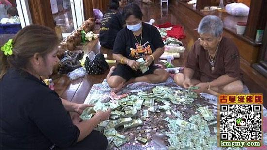泰国善信寺庙捐款2000万内容图片