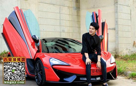 泰国年轻豪车CEO讽刺打人男星--泰国佛牌网内容图片