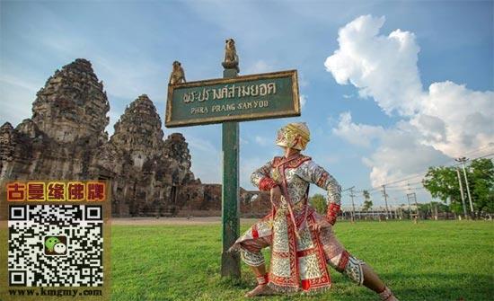 泰国神兽哈奴曼惊现街头内容图片
